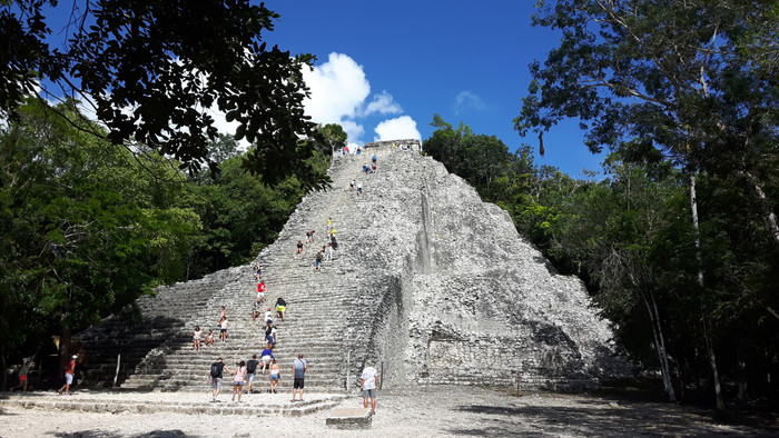 Day trip to Coba from Playa del Carmen