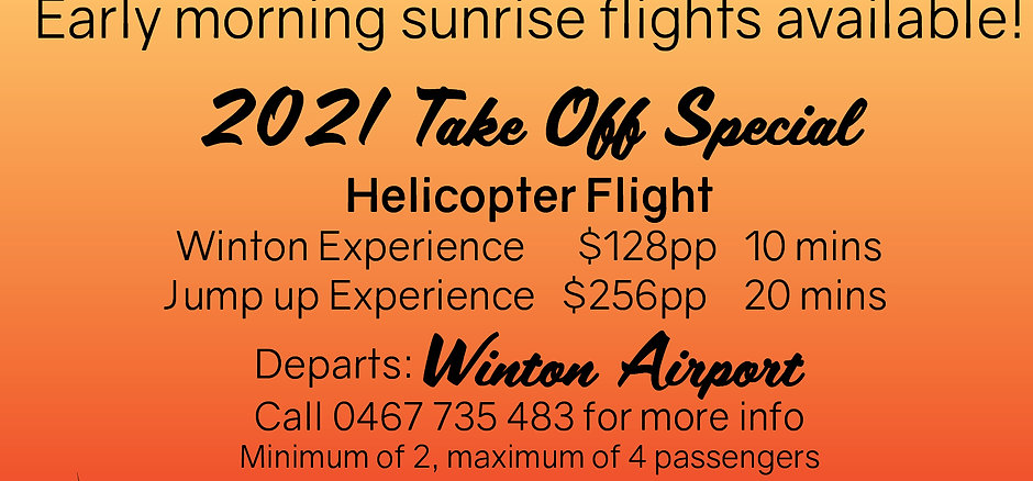 2021 Take Off Special