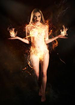 Olivia Harriet - Fire Dress