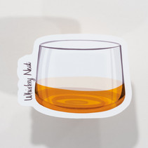 Whiskey Neat Sticker