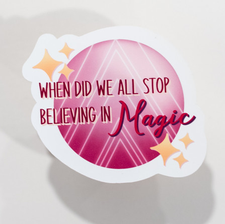 Believing in Magic Sticker
