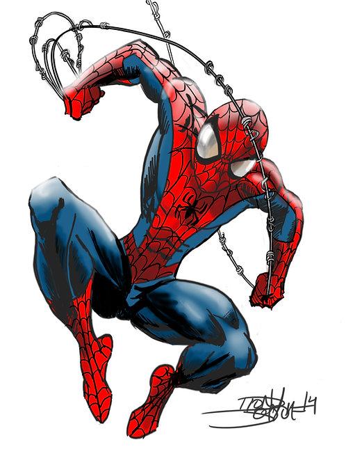 SPIDER-MAN  (DIGITAL PORTRAIT)