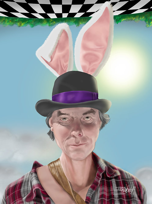 MARCH HARE (DIGITAL PAINTING)