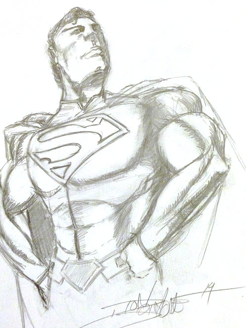 SUPERMAN (SKETCH)