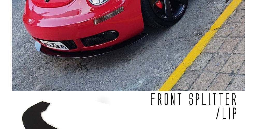 Front Splitter - VW New Beetle