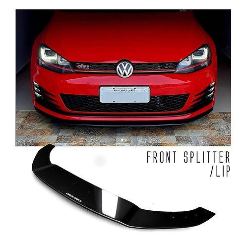 Front Splitter - DW Fold - Golf GTi MK7/7.5