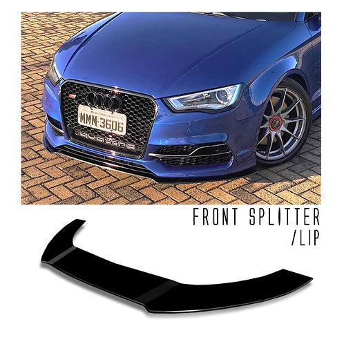 Front Splitter/Lip - Audi S3 2016
