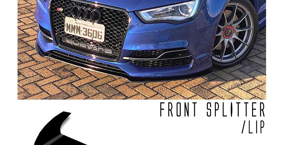 Front Splitter - Audi S3 2014-2016