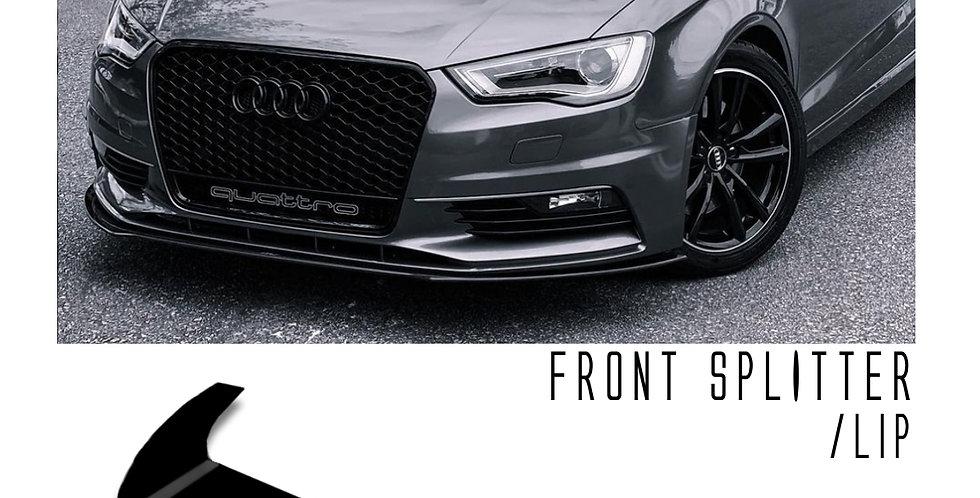 Front Splitter - Audi A3 2014-2016