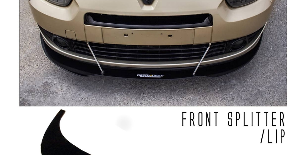 Front Splitter - Fluence