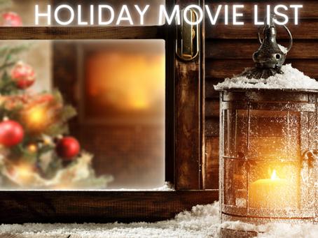 My Must-Watch Holiday Movie List