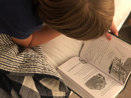 A Boy & His Books