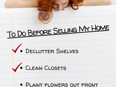 A Seller's To-Do List
