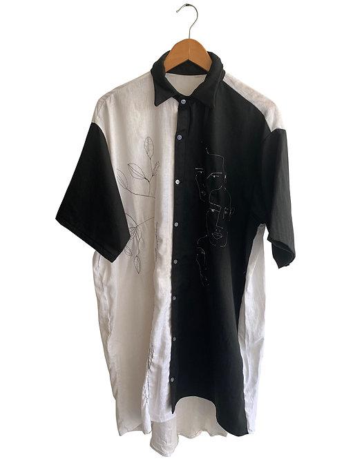 Camisa P&B Collab Dani Stuani