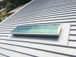 New skylight installation