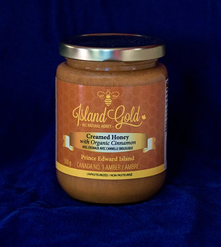 Creamed Honey with Organic Cinnamon