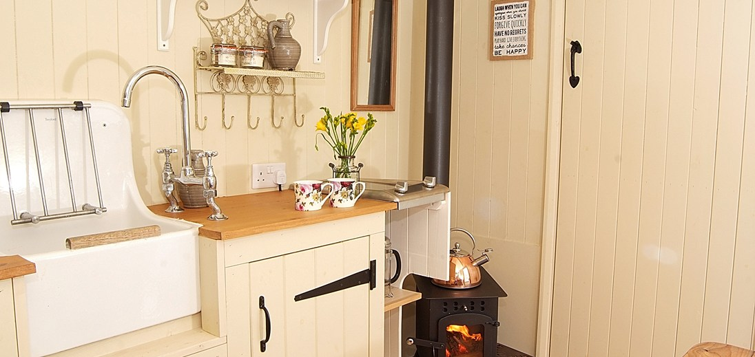 Kitchen and Log Burner 2