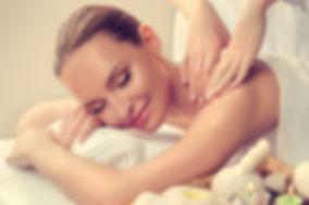 Massage and body  care. Spa body massage