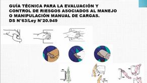 """VIDEO-CAPACITACIÓN PARA TRABAJADORXS """"PREVENCIÓN DE RIESGOS EN MANEJO MANUAL DE CARGAS"""""""