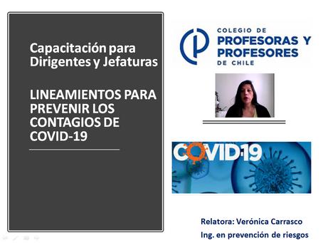 VIDEO-CAPACITACIÓN DIRIGENTES Y JEFATURAS-PROTOCOLO COVID19