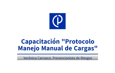 VIDEO-CAPACITACIÓN PROTOCOLO MANEJO MANUAL DE CARGAS