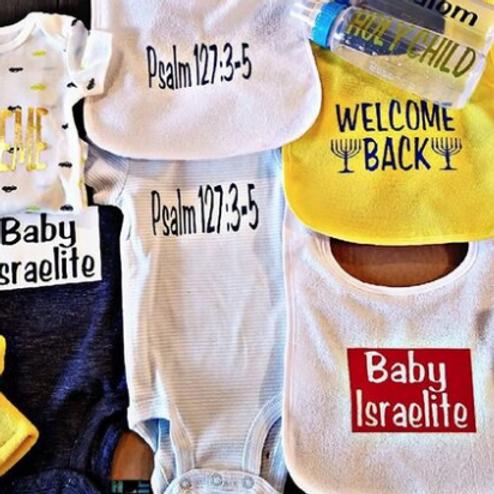 BABY ISRAELITE SET PACKAGE IOZ