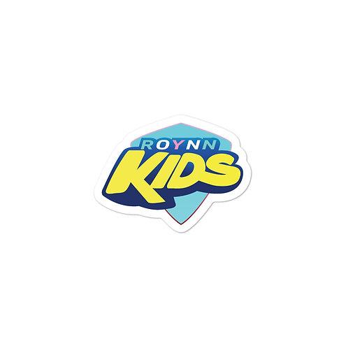 """ROYNN Kid's"" Bubble-free sticker"
