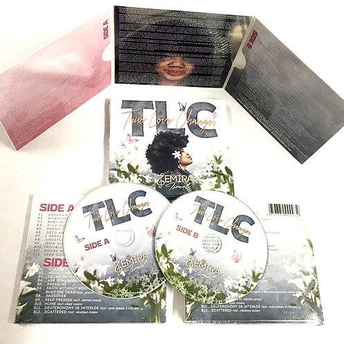 TLC True Love Changes DOUBLE DISC HARDCOPY ALBUM