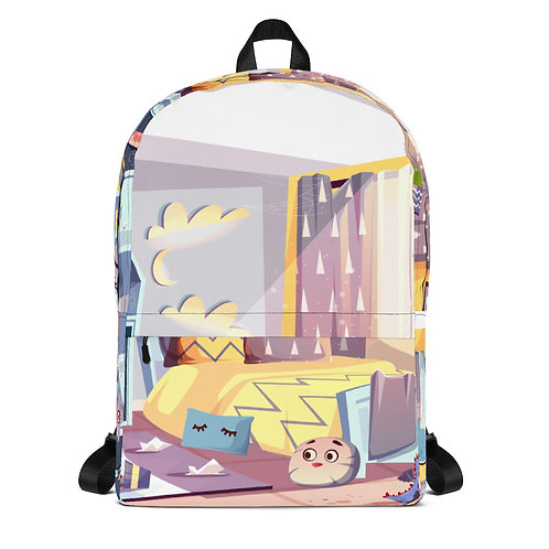 """Mia and HaMashiach"" Backpack"