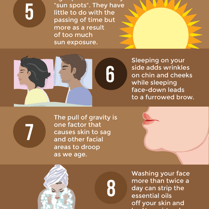 12 Surprising Facts You Probably Didn't Know About Skin Ageing