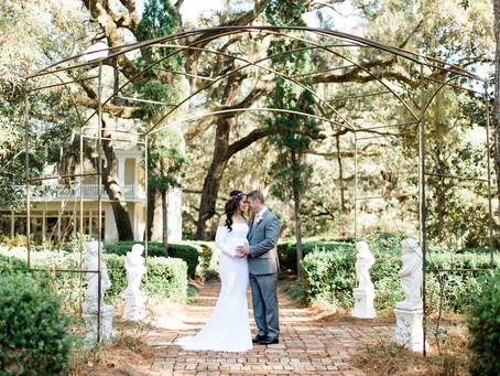 An Eden Gardens State Park Wedding
