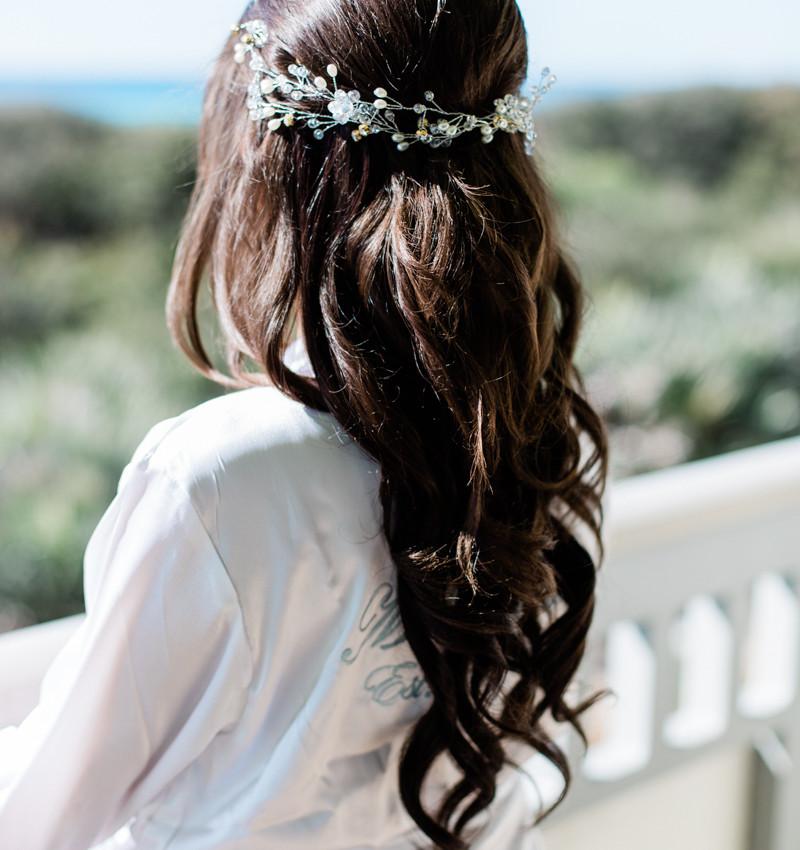 Jesse Lea hair and makeup artist 30a wedding