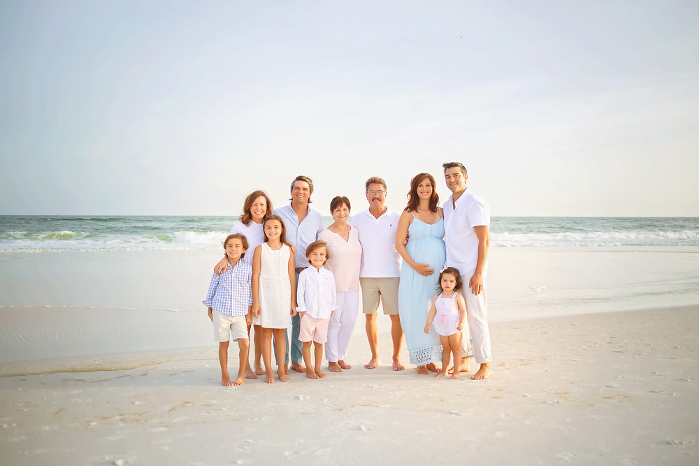 Family Destin beach portrait photographer