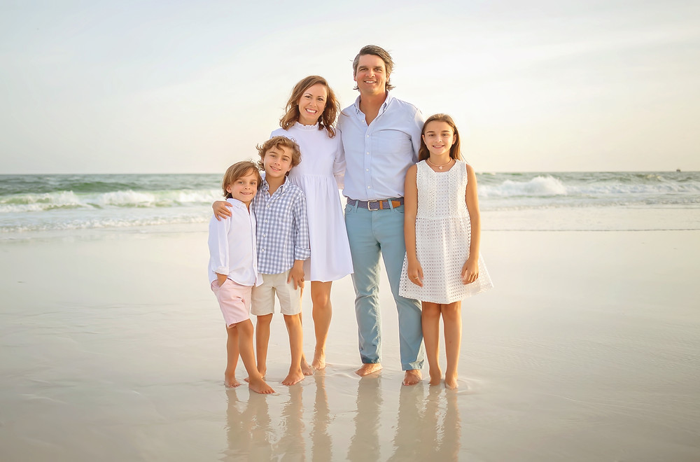 family portrait destin beach photographer