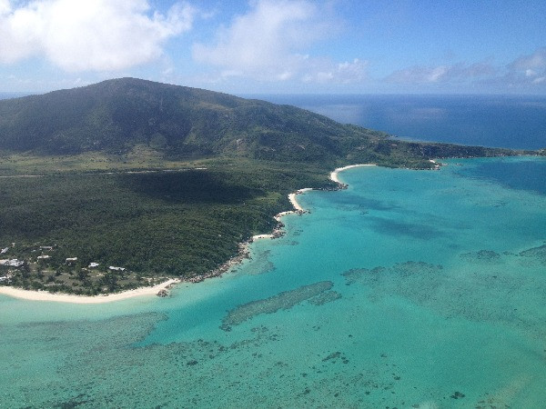 Lizard Island from above, The Great Barrier Reef