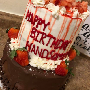 Strawberry/chocolate