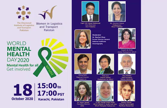 WiLAT PAK Webinar on 'World Mental Health Day'