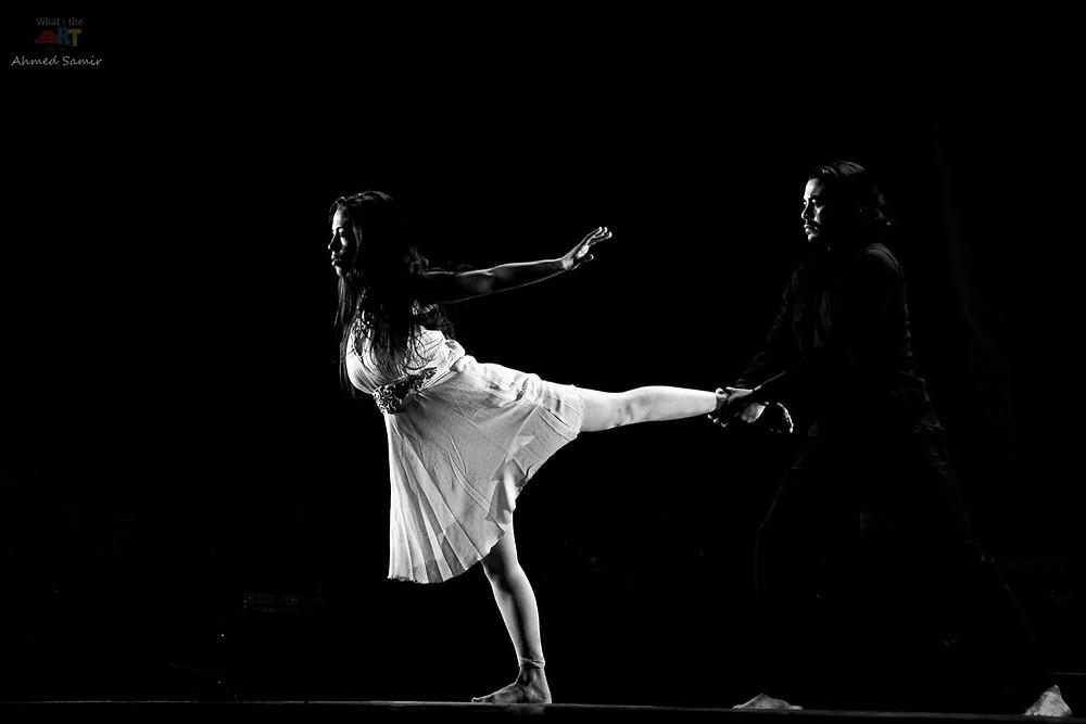 من عرض هاملت بمكتبة الإسكندرية - فوتوغرافيا/أحمد سمير