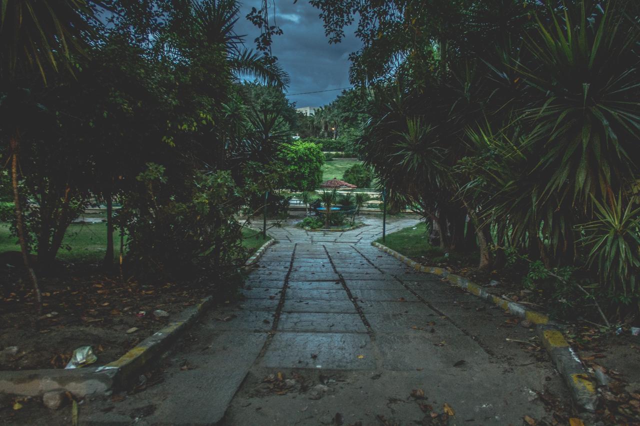 حديقة الشلالات