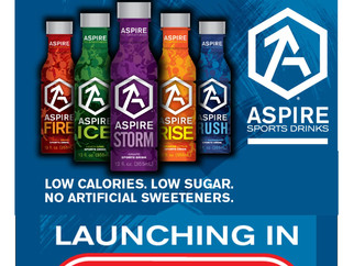 Aspire is Now at HEB!