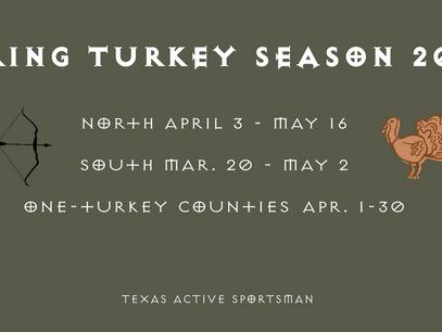 Turkey Season 2021: Official Dates