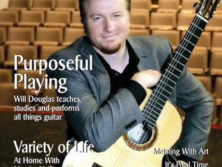 Purposeful Playing, Will Douglas teaches, studies and performs all things guitar