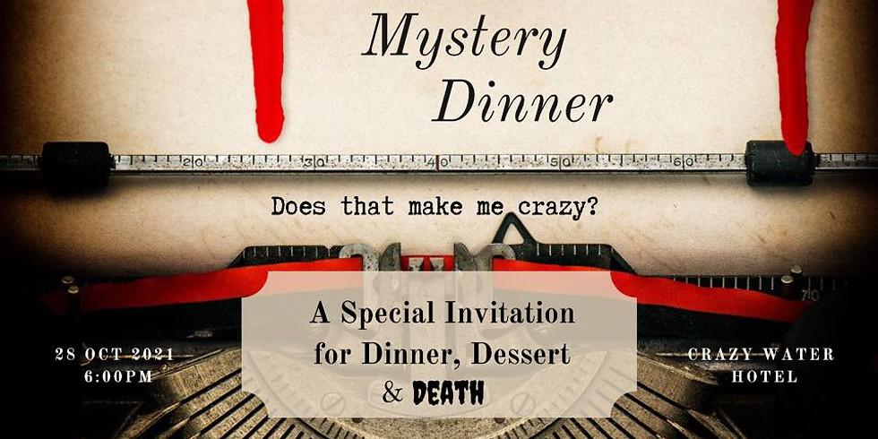 Murder Mystery Fundraiser Dinner