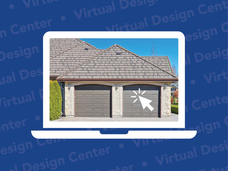 Customizing Your Garage Door is Easy with Our Virtual Design Center