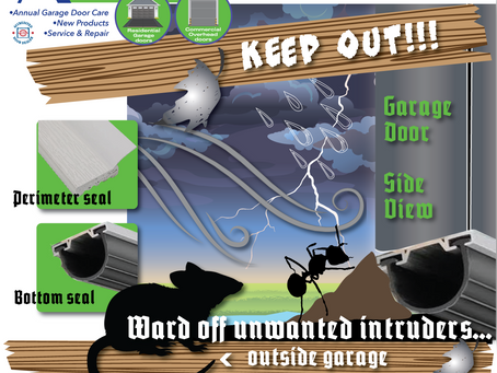 Keep out wind, extreme temperatures, debris and critters...