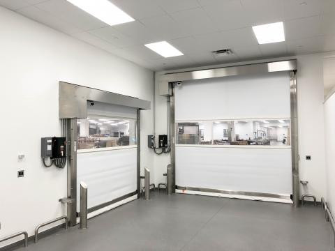 Pharma-Roll High Performance Door by Rytec
