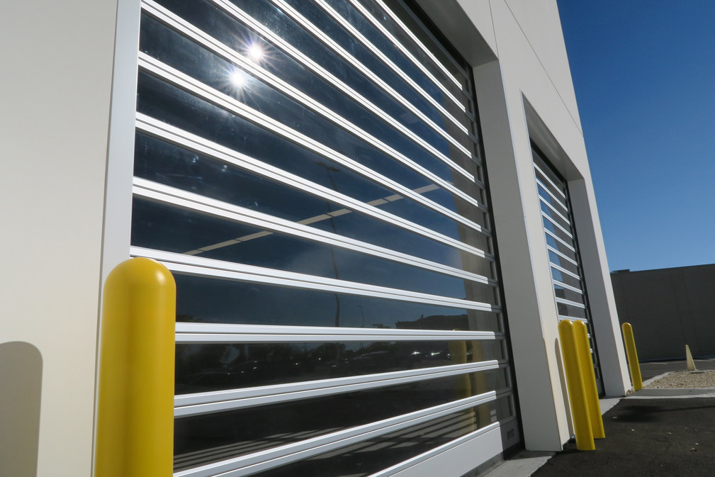Car Dealership Rytec High Performance Overhead Door