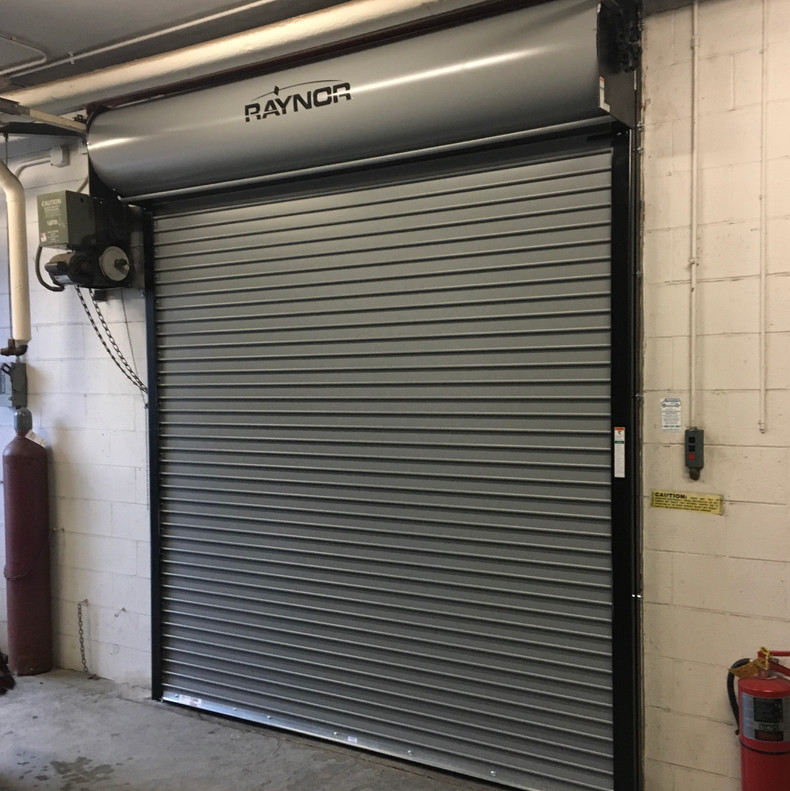 Raynor Duracoil curtain door