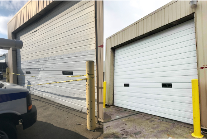 Raynor STEELFORM commercial overhead door