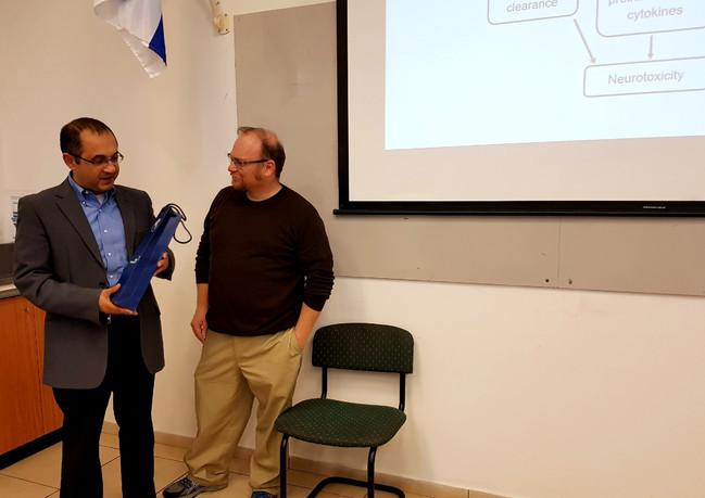 Prof. D. Frenkel's visit IBSCA